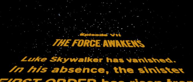 Star Wars VII Crawl